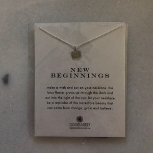NWT Dogeared New Beginnings Necklace